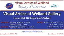 Visual Artists of Welland Gallery Shop