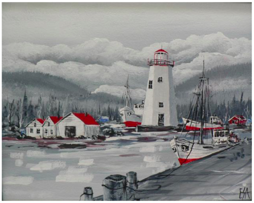 """Lighthouse by the Lake "" 1-Day Creative Painting Workshop"