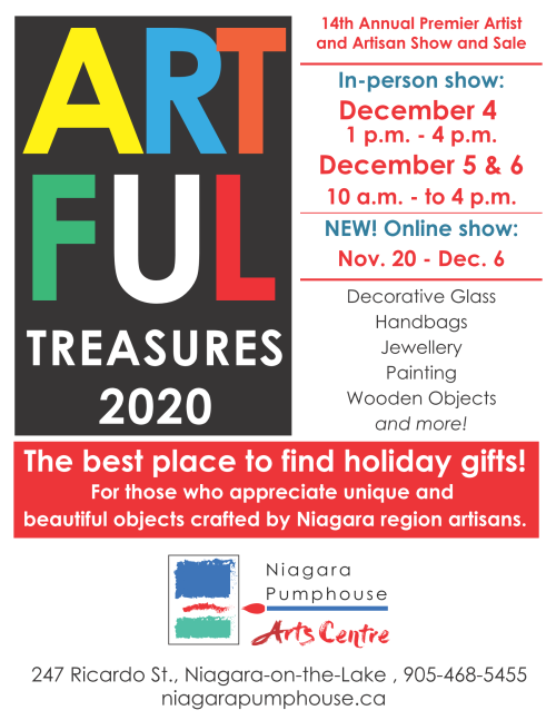 Artful Treasures 2020 Art Show & Sale