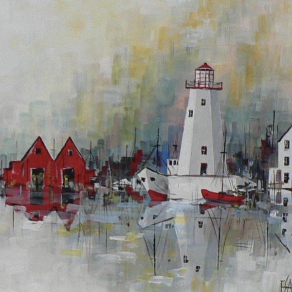 """Great Lakes Light "" 1-Day Creative Painting Workshop"